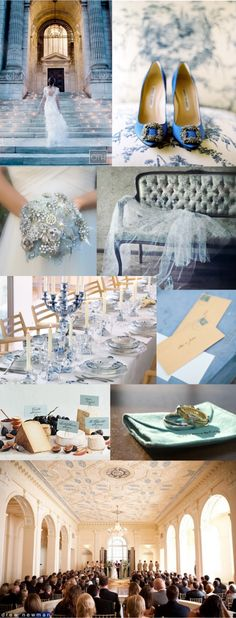 Ice blue wedding.. ;0)