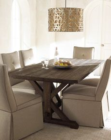 Love this simply elegant dining room!