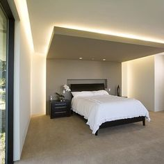 Bedroom Ceiling Lighting Design, Pictures, Remodel, Decor and Ideas