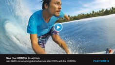 New GoPro Hero3+ Action Camera with New & Improved Features. http://cheesycam.com/introducing-the-new-gopro-hero3-black-and-silver-edition-cameras/
