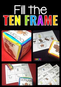 Fill the Ten Frame M