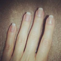 Matte finish American manicure gel polish
