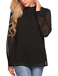 New COSBEAUTY Women Loose Chiffon Tops Blouse Casual Long Sleeve Pleated T-Shirt online. Find the perfect Doris Apparel Tops-Tees from top store. Sku VMZT12459XRWA60508