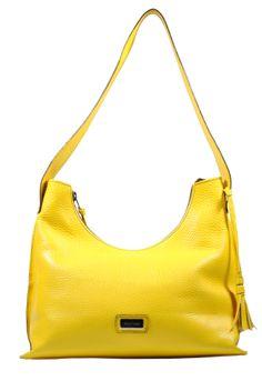 Bolso amarillo Aldo Nero #anmoda #cuero #aldonero