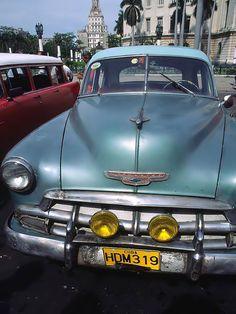 Classic Car - Havana, La Habana