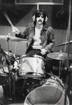 Ringo in the studio
