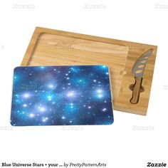 Blue Universe Stars + your ideas Cheese Board