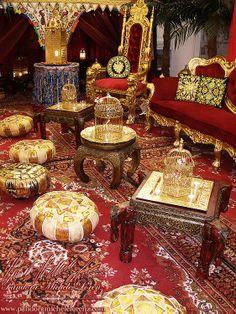 Vorher & Nachher (Before & After) - Dekorative Raumgestaltung!  Pandora Michèle Lorenz . Interior Design & Decorations . Art . Lifestyle!  Majestically Marvelous! Exklusive orientalische-, indische-, asiatische-, ... antike Luxus Dekorationselemente, kostbare Palast Möbel & edle Wüstenzelte, Wasserpfeifen, Shishas, ...! Für Ihre Events!  Verleih, Vermietung, Mieten!  http://www.pandoramichelelorenz.com/