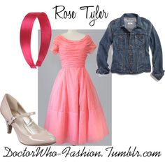 """Rose Tyler"" by doctor-who-fashion on Polyvore"
