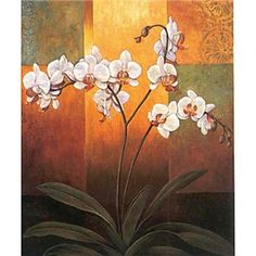 Hand-painted Oil Painting Floral Tall
