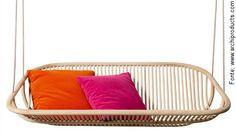Cadeira balanço suspensa sofá Rocking Sofa