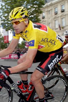Cadel Evans winner of the 2011 Tour de France