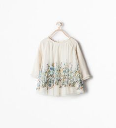 PRINTED TULLE DRESS-Dresses-Baby girl (3 months - 3 years)-KIDS | ZARA United States