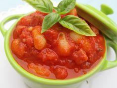 Alubias con tomate y jamón (thermomix)