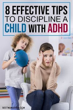 discipline How to Discipline a Child with ADHD: With all these tips and tricks, you will undoubtedly be able to discipline your child with Attention Deficit Hyperactivity Disorder easily. Gentle Parenting, Parenting Teens, Parenting Advice, Peaceful Parenting, Adhd Odd, Adhd And Autism, Adhd Help, Adhd Strategies, Sensory Issues
