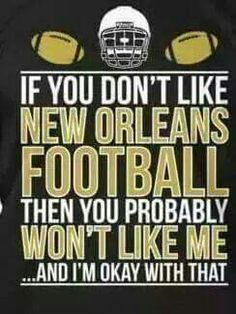 If you don't like New Orleans football, then you probably won't like me ...and I'm ok with that - http://etsy.me/1LhWFG4