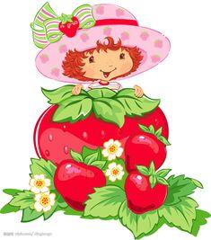 Strawberry Shortcake  | Mais imagens desta fase, neste mesmo blog: Nova Moranguinho