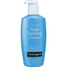 Ulta. Neutrogena Fresh Foaming Cleanser. $6.99