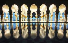 Abu Dhabi, United Arab Emirates Sheikh Zayed Grand Mosque by...: