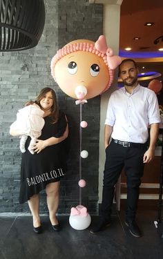 Baby show enanita Tulle Balloons, Baby Shower Balloons, Baby Shower Parties, Baby Boy Shower, Baby Shower Gifts, Ballon Decorations, Balloon Crafts, Shower Bebe, Balloon Bouquet