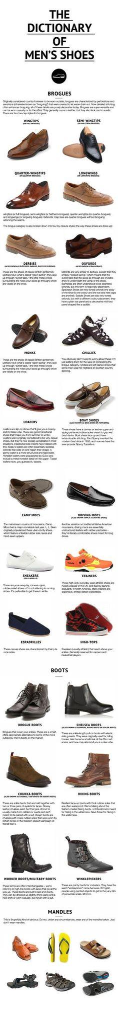 half off 3e8e1 6d912 The Dictionary of Men s Shoes  How Shoes Can Make You More Attractive As A  Man