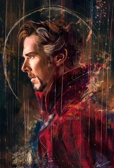 Doctor Strange Finished < SO YEAH I HAVE THE PRINT OF THIS AND I LOVE IT WITH MY HEART AND SOUL