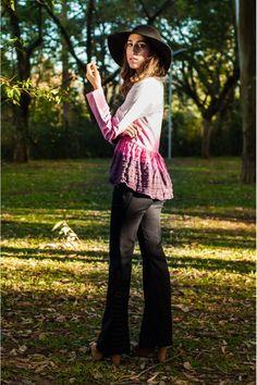 Casaco Tie Dye R$ 209,90 - Terra da Garoa Inverno 15 - Moda Sustentável feita com amor