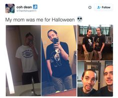 This mom and her Halloween costume. | 18 Parents Who Are So Extra That It's Actually Endearing