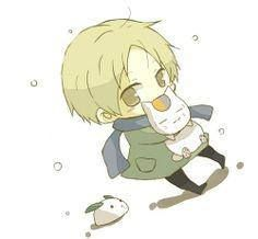 CHIBI NATSUME AHH MY HEART AND THE SNOW RABBIT DUDE WHO I FORGOT THE NAME OF!!!!