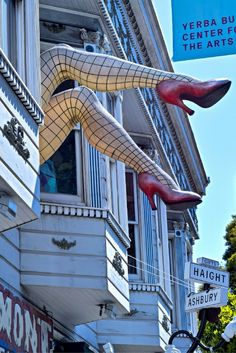 The famous corner of Haight-Ashbury is a must stop when visiting San Fran. Grab…