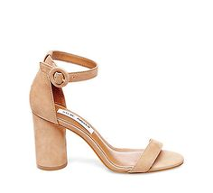 SHANNA - Calling all modern art lovers! A cylindrical block heel, sleek lines and monochromatic palette make SHANNA a new must-have sandal for desi Steve Madden Shoes, Block Heels, Me Too Shoes, Heeled Mules, Sandals, My Style, Boots, Womens Fashion, How To Wear
