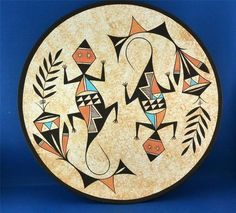 Native American Navajo Indian Pottery Lizard Plate Westly Begaye | eBay. $114.99 plus $12.00 shipping.