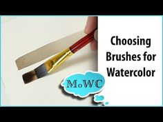 Here are some tips and things to look for when buying brushes for #watercolorpainting.