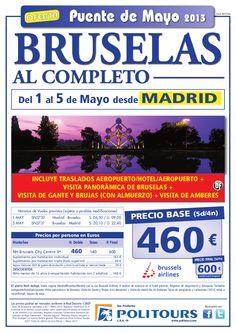 Puente de Mayo BRUSELAS al completo, salida 1/05 desde Madrid (5d/4n) p.f. 600€ - http://zocotours.com/puente-de-mayo-bruselas-al-completo-salida-105-desde-madrid-5d4n-p-f-600e-5/