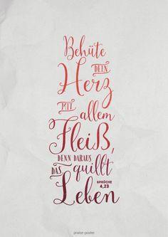 Sprüche 4:23