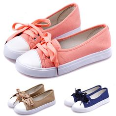 Encontrar Más Moda Mujer Sneakers Información acerca de 3 del Color del caramelo 2015 zapatos planos