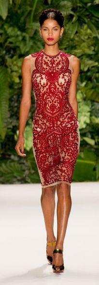 THE Holiday cocktail dress. Naeem Khan Spring 2014