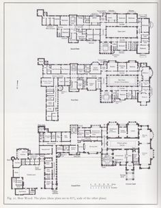 29 English Manor Floor Plan English Manor Floor Plan - Greenwich Ronaele Manor 60 Unique Historic English Manor House Floor Plans The Maximum Dwelling misfits architecture Two st. The Plan, How To Plan, Castle Floor Plan, House Floor Plans, Mansion Plans, Architectural Floor Plans, Vintage House Plans, Modelos 3d, English Manor