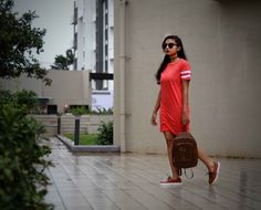 Casual in T Shirt Dress