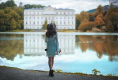 Reflections of history. - A shot taken in Austria during a tour wih some friends, here near Salzburg.