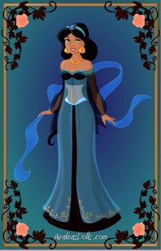 Halloween Jasmine by CartoonNetworkgal on deviantART