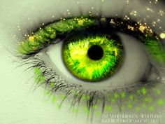 Green eye by RadcliffeftShin.deviantart.com on @deviantART