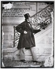Danish writter Hans Christian Andersen.