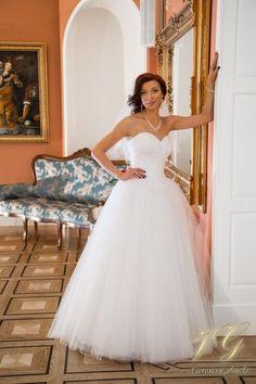 Suknia ślubna nr 4 z kolekcji Toscana #victoriagabriela #weddingdress