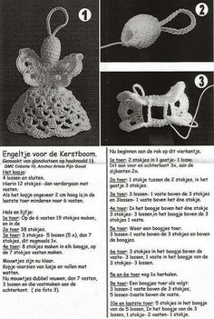 Christmas Angels hooks Site is German so you Will need a translatorCrochet Angel, have to get pattern translated but way Most Festive DIY Decoration Ideas For Christmas - SalvabraniDIY - zrób to sam na Stylowi.Glad I knit: Angels Crochet Angel Pattern, Crochet Angels, Crochet Lace, Crochet Stitches, Crochet Patterns, Crochet Christmas Decorations, Crochet Decoration, Christmas Crafts For Gifts, Christmas Angels