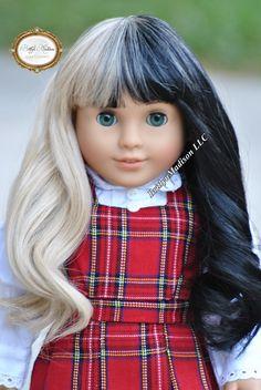 Melanie Martinez Inspired 18 Inc Doll Wig for American Girl Dolls.  Premium quality.  Heat Safe