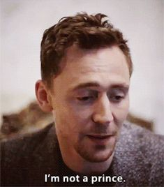 Yes you are. Yes you are. Stop being so good and denying! YOUR THE RULER OF ASGARD NOW START ACTING LIKE IT!