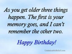 quotes about middle age old age over the hill birthday quotes funny ...