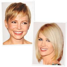 Find the Best Hair Color for Your Skin Tone   InStyle.com Find Your Shade: Fair Skin: Warm tones like Michelle Williams' look best against hues of butterscotch, strawberry blond, and honey. These shades play up the peachiness of your complexion and cast a soft glow on your face. If you have a cool skin tone like January Jones, look for blue-based colors like platinum, flaxen, and champagne blond to flatter your ivory complexion.