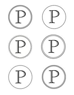 link for Martha Stewart printable letters! I printed out letters for our last name and framed them! Super cute!